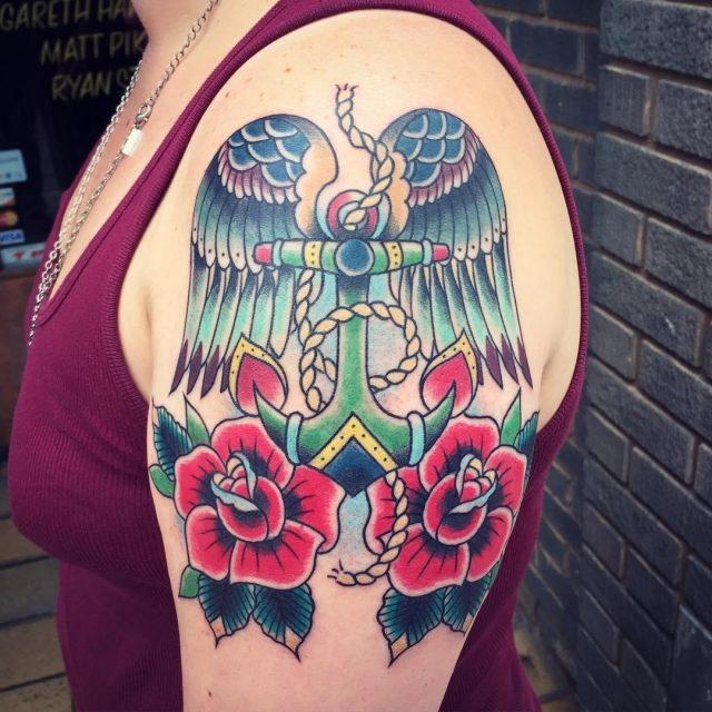 Anchor tattoo 57