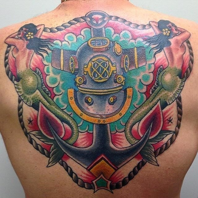 Anchor tattoo 69