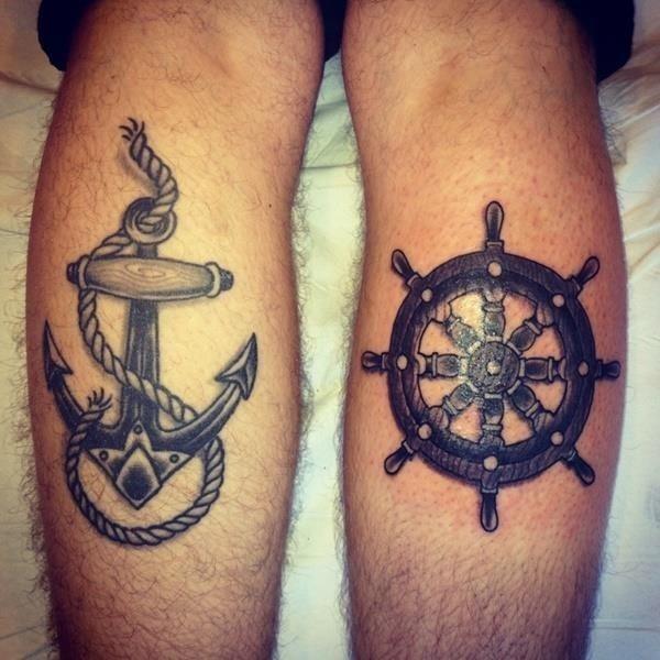 Anchor tattoo designs 2