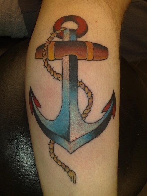 Anchor tattoos 03