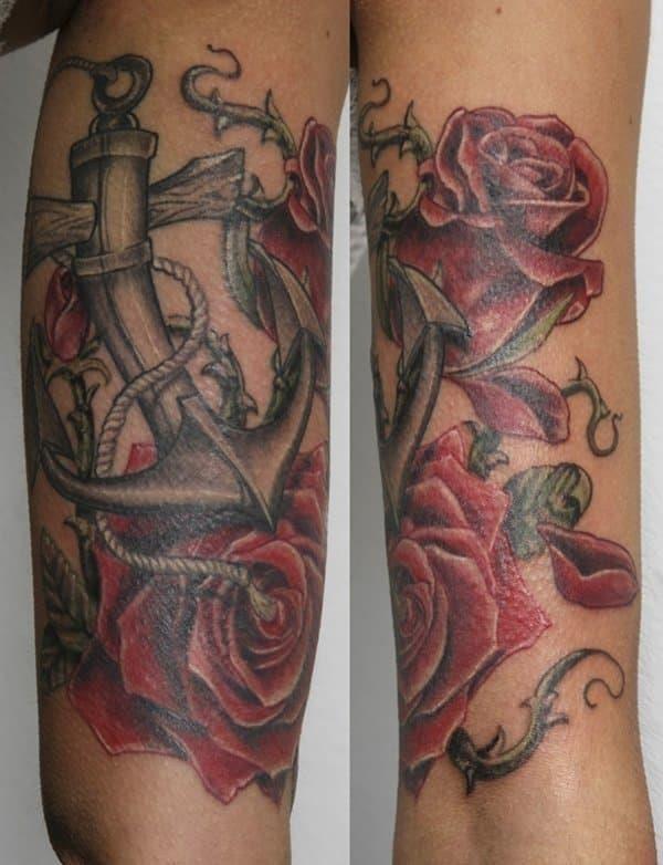 Anchor tattoos 06