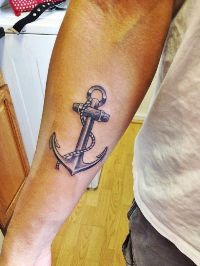 Anchor tattoos 34