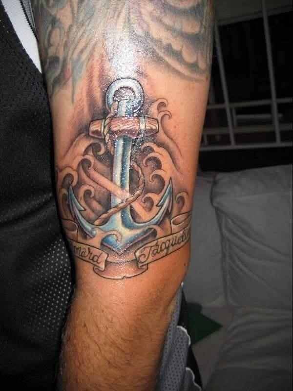 Anchor tattoos 41