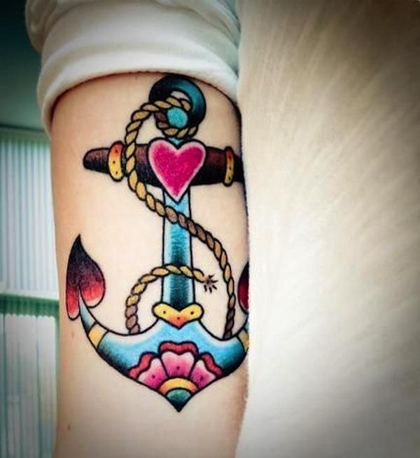 Anchor tattoos 71