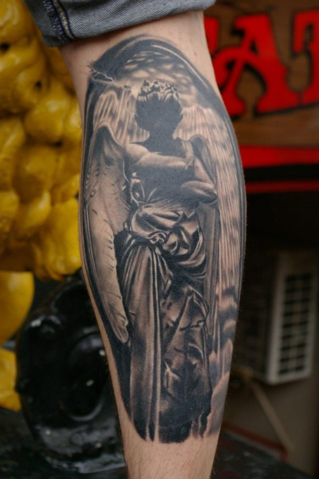 Angel tattoo 25