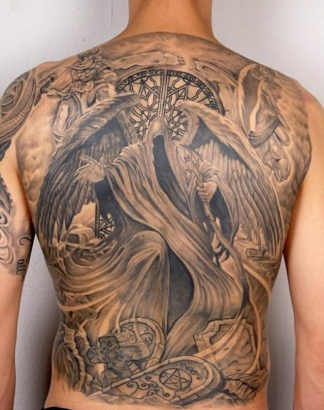 Angel tattoo 31 650×823