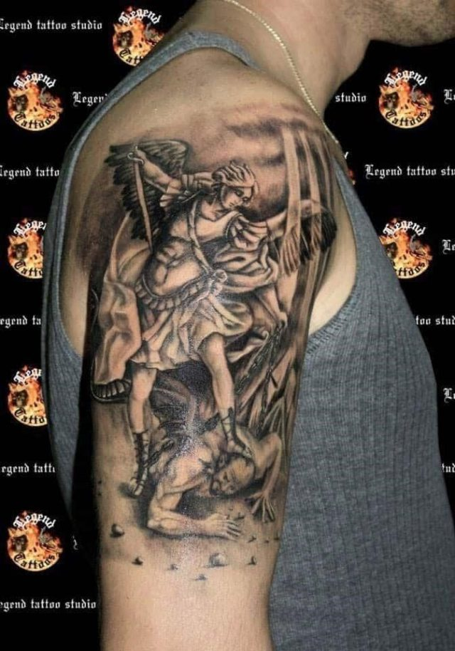 Angel tattoo 46