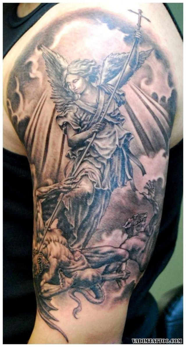 Angel tattoos 11