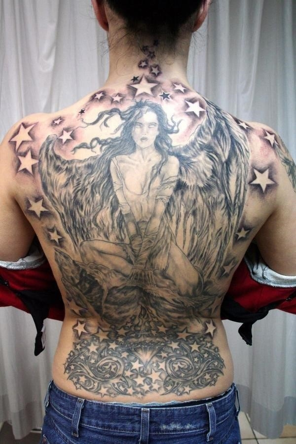 Angel tattoos 28