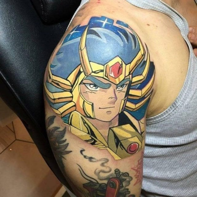 Anime tattoos 17042021