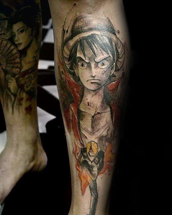 Anime tattoos 33