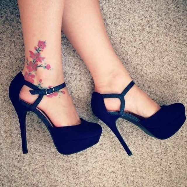 Ankle tattoo 14 650×650