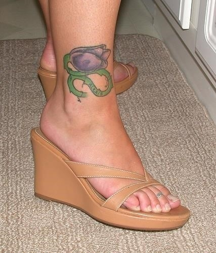 Ankle tattoo idea