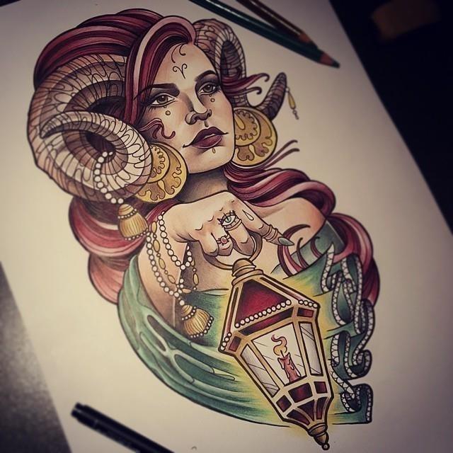 Aries tattoo 23