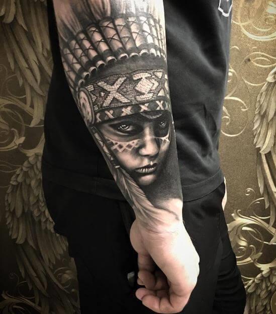 Arm sleeve tattoos