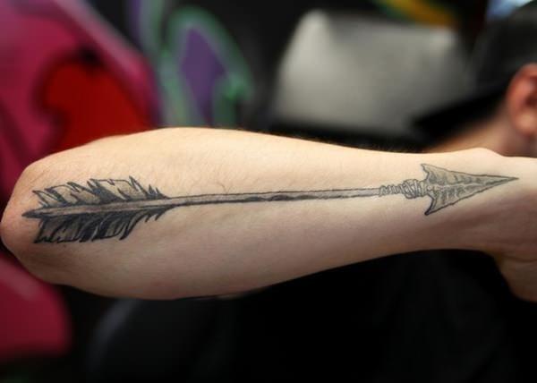 Arrow tattoo 23
