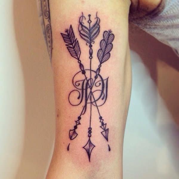 Arrow tattoo 29