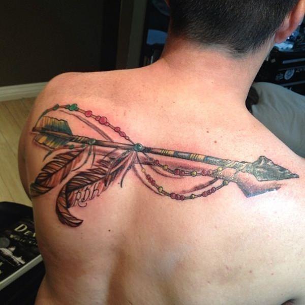 Arrow tattoo 35
