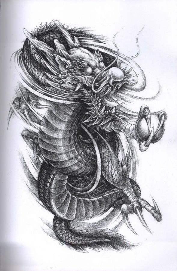 Art body tattoos dragon tattoo design