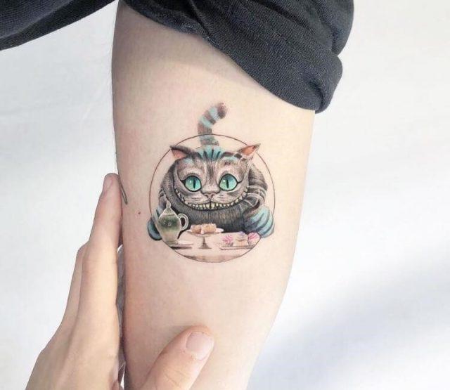 Artist  kozo tattoo  cheshire cat tattoo 20054124909