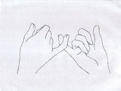 B5d5a49f3d8d87b64bdb53814275eefe  pinky swear drawing