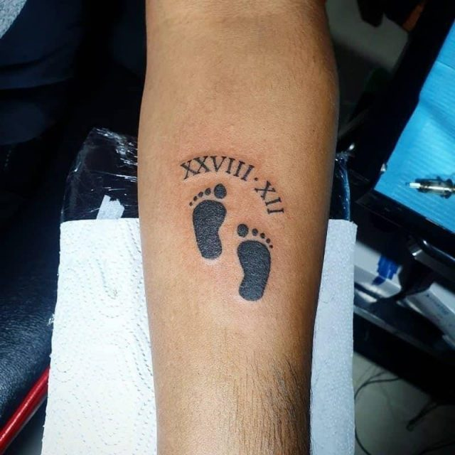 Baby footprint tattoos inkme61