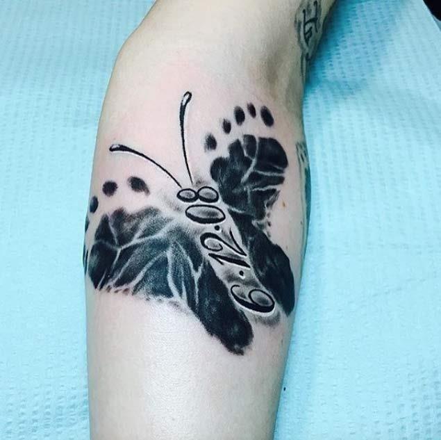 Baby tattoo idea