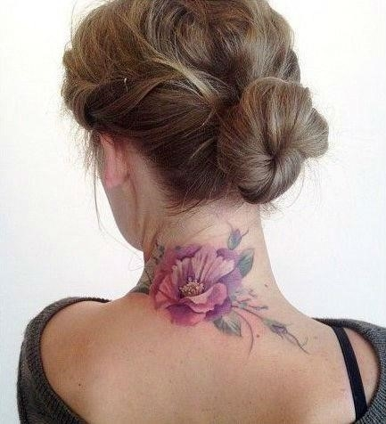 Back of neck tattoos29