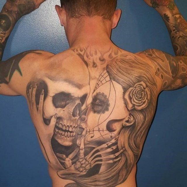 Back tattoo  3 650×650