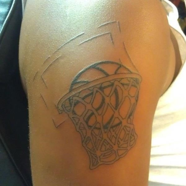 Basketball tattoo Designs and Ideas For Men 31