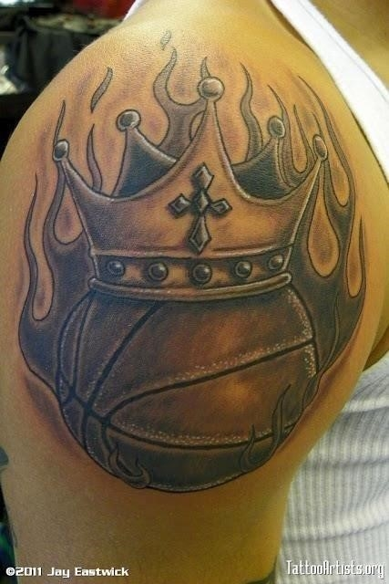 Basketball tattoos 5