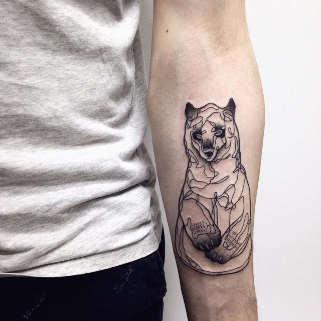 Bear tattoo 49