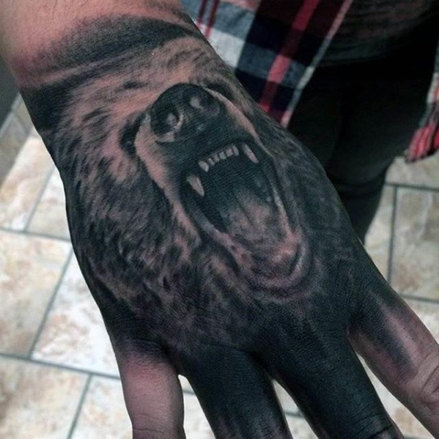 Bear tattoos 26011940