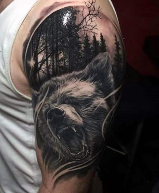 Bear tattoos 26011961