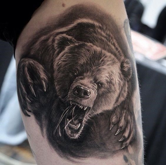 Bear tattoos 50