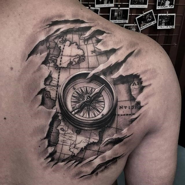 Beautiful 3d tattoos 19