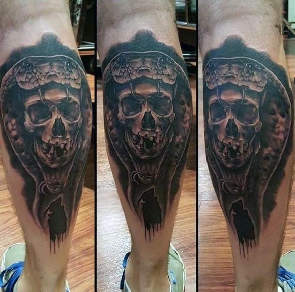 Best calf tattoos for men
