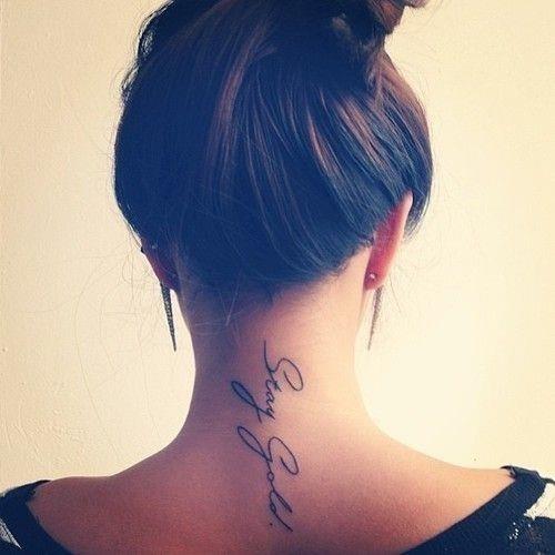 Best neck tattoo idea1