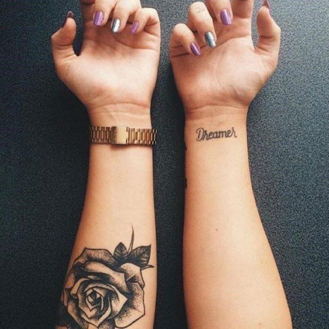 Black rose tattoot51