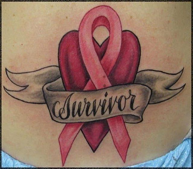 Breast cancer survivor tattoos