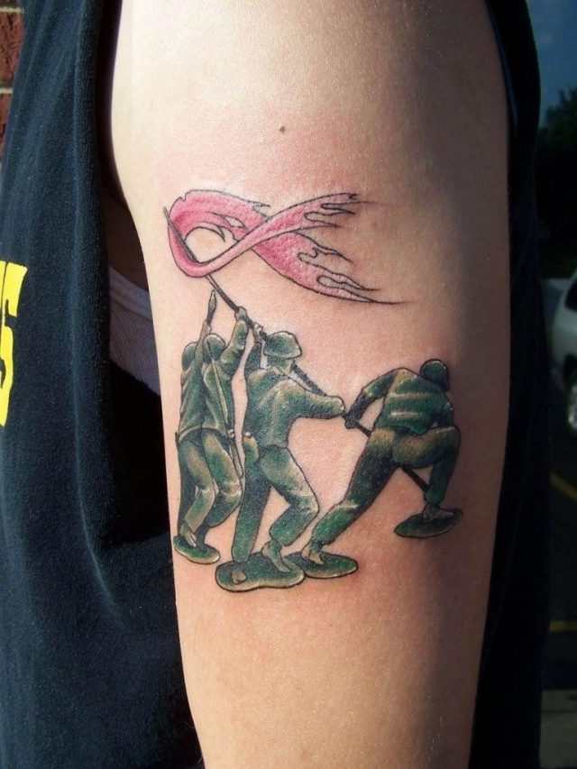 Breast cancer tattoo pictures 38