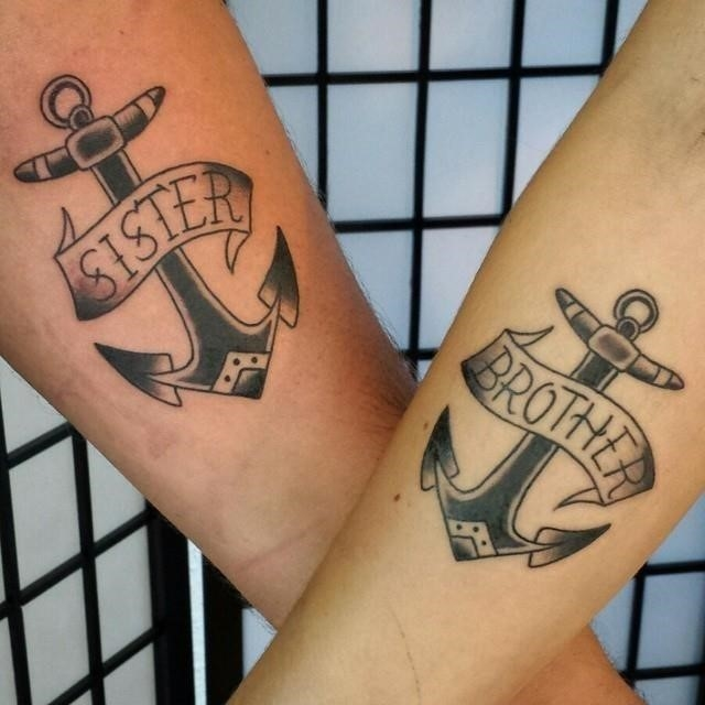 Brother sister tattoo 34