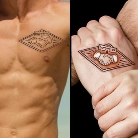 Brotherhood tattoo for brothers