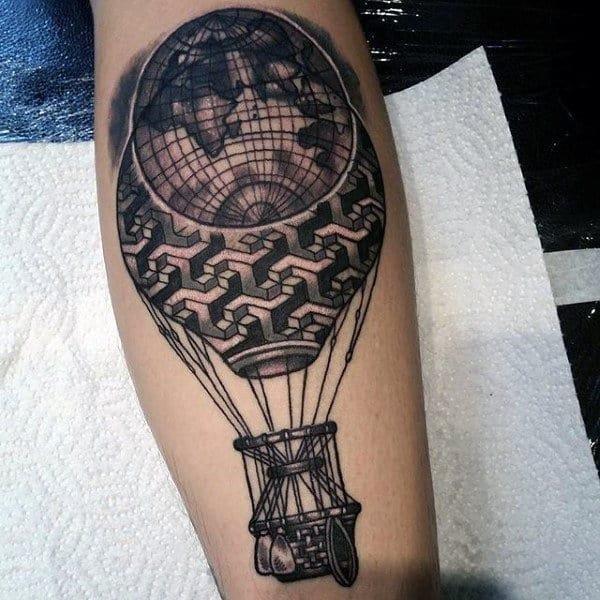 Calf tattoo design ideas for men
