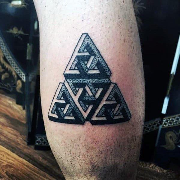 Calf tattoos designs for men