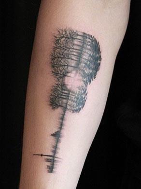 Canadian celeb tattoo
