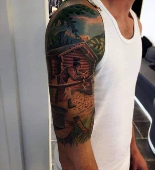 Carpenter male tattoos