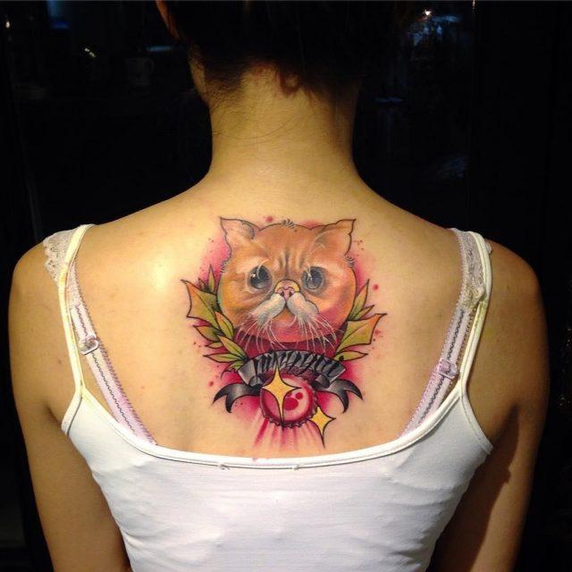 Cat tattoo 101