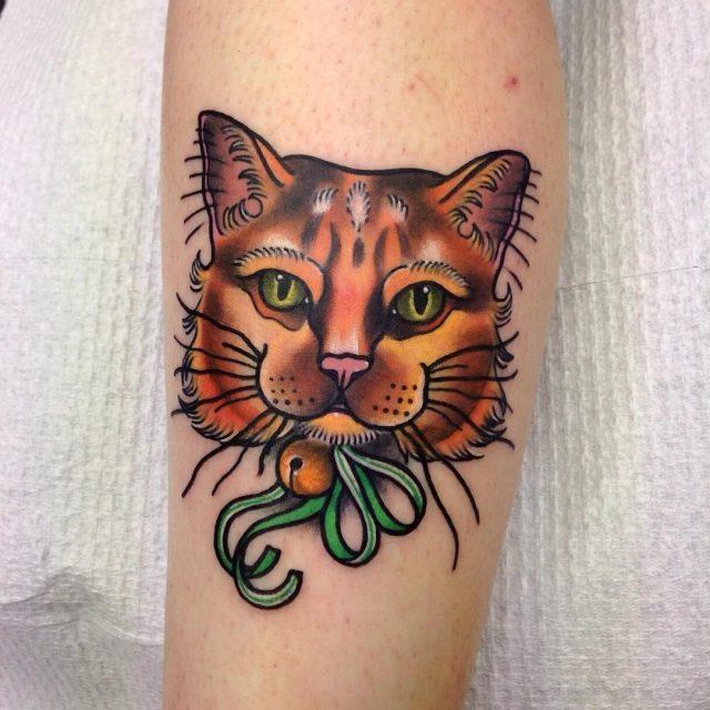 Cat tattoo 181