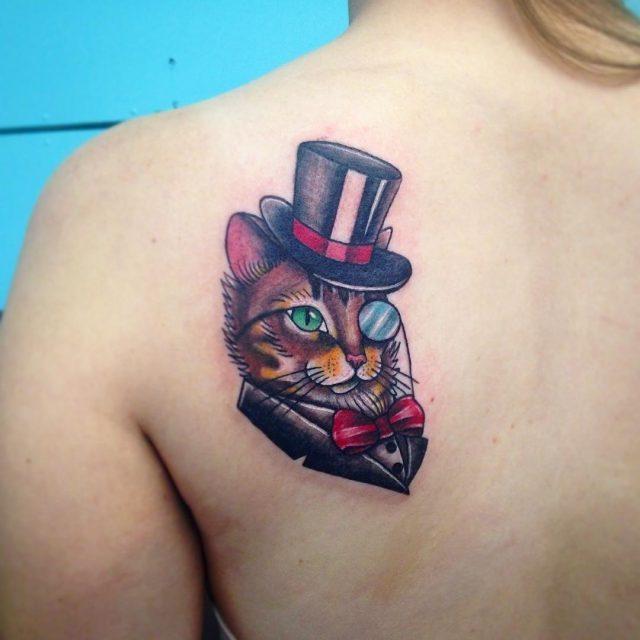 Cat tattoo 201